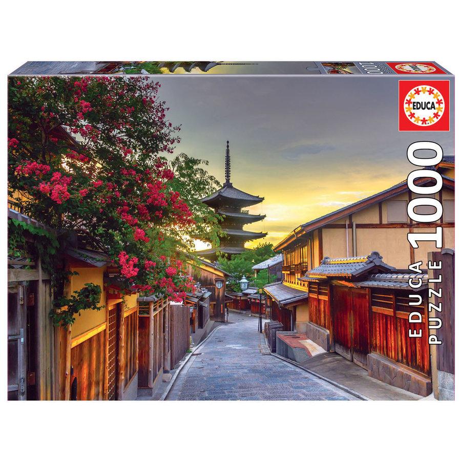 Pagode Yasaka - Kyoto  - puzzel 1000 stukjes-2