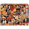 Educa Vintage collage van bieren  - puzzel 1000 stukjes