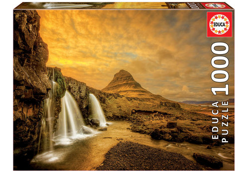 Educa Kirkjufellsfoss Waterfall in Iceland - 1000 pieces