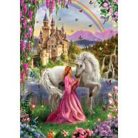 thumb-La fée et la licorne - puzzle de 500 pièces-2