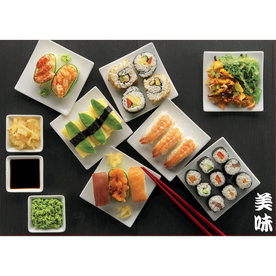 Sushi -  jigsaw puzzle of 500 pieces-2