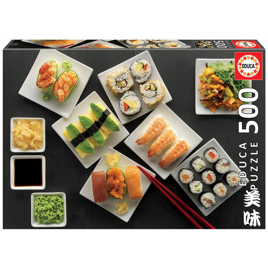 Sushi -  jigsaw puzzle of 500 pieces-1