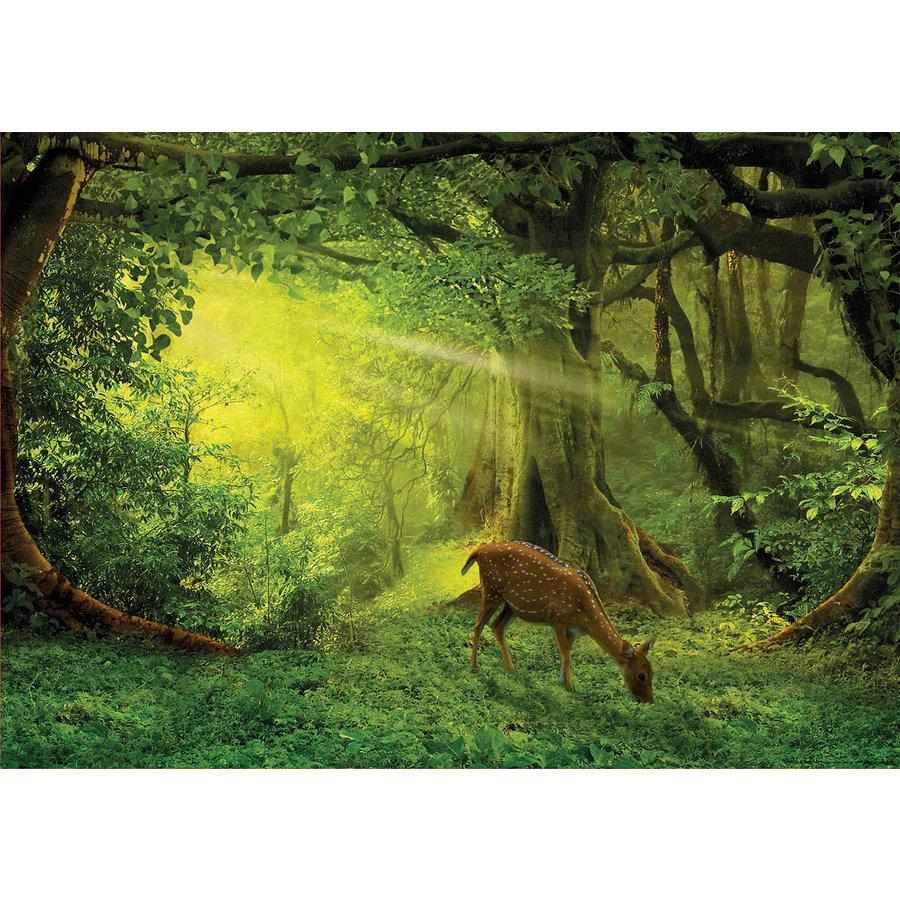 Hertje in het bos - legpuzzel van 500 stukjes-2