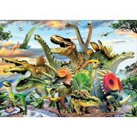 thumb-Machtige dinosaurussen - legpuzzel van 500 stukjes-2