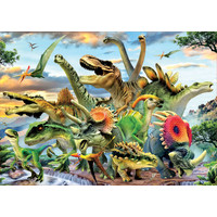 thumb-Mighty dinosaurs - jigsaw puzzle of 500 pieces-2