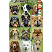 thumb-All dogs - jigsaw puzzle of 500 pieces-2