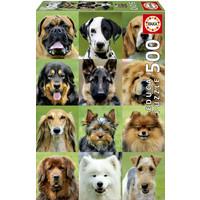thumb-Allemaal honden - legpuzzel van 500 stukjes-2