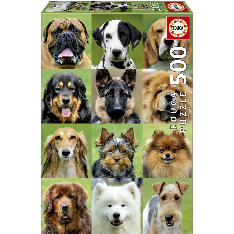 Allemaal honden - legpuzzel van 500 stukjes-2