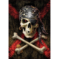 thumb-Skull of the pirate  -  jigsaw puzzle of 500 pieces-1