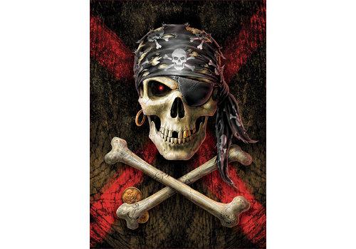 Tête de mort pirate - 500 pièces