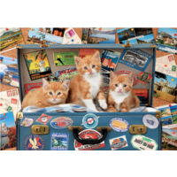 thumb-Kittens on a holiday - puzzle of 200 pieces-1