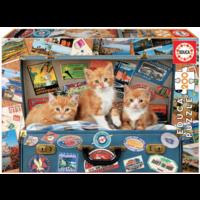 thumb-Katjes op reis - puzzel van 200 stukjes-2