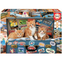 thumb-Kittens on a holiday - puzzle of 200 pieces-2