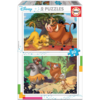 Educa Disney - Lion King - Jungle book - 2 x 20 pieces