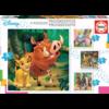 Educa 4 puzzels van de Mickey Mouse - 12, 16, 20 en 25 stukjes