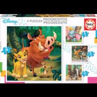 thumb-4 puzzels van de Mickey Mouse - 12, 16, 20 en 25 stukjes-1