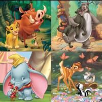 thumb-4 puzzels van de Mickey Mouse - 12, 16, 20 en 25 stukjes-2