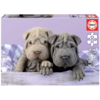 Educa Goedemorgen hondjes - puzzel van 100 stukjes