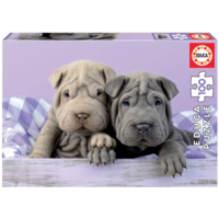 thumb-Good morning dogs - puzzle of 100 pieces-1