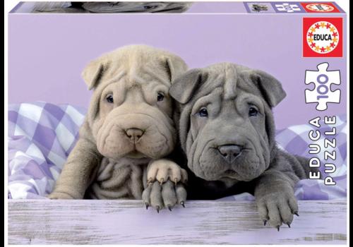 Educa Goedemorgen hondjes - 100 stukjes
