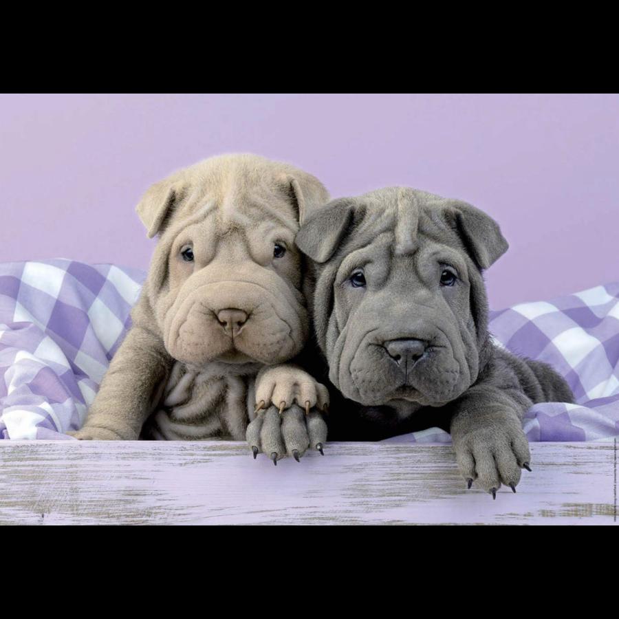 Bonjour les chiens - puzzle de 100 pièces-2