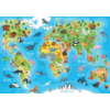 Educa Animal world map - puzzle of 150 pieces