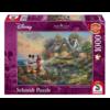Schmidt Mickey en Minnie Mouse - Thomas Kinkade - puzzel van 1000 stukjes