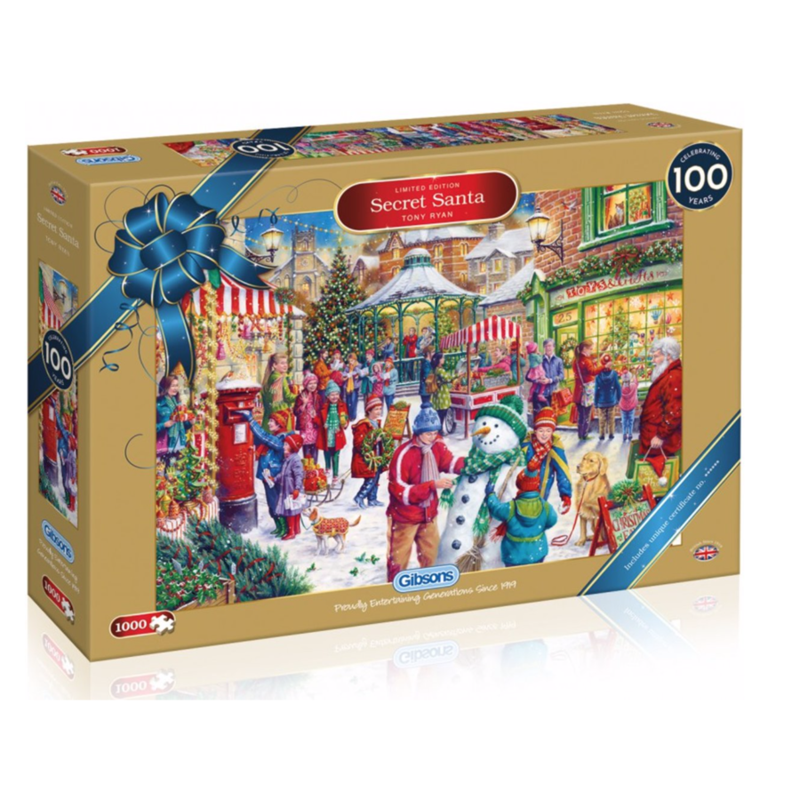 Secret Santa - Limited Edition - 1000 stukjes-1