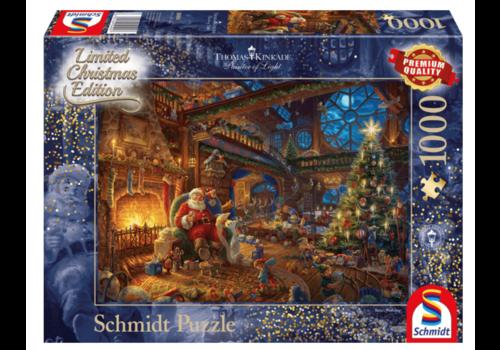 Het atelier van de kerstman - 1000 stukjes