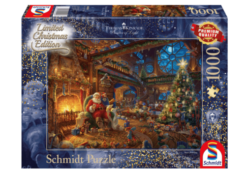 Santa's Workshop - 1000 pieces
