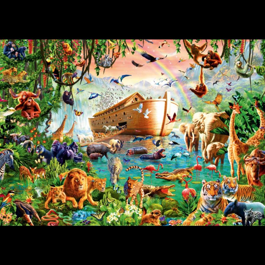 Noah's Ark - puzzel van 1000 stukjes-1