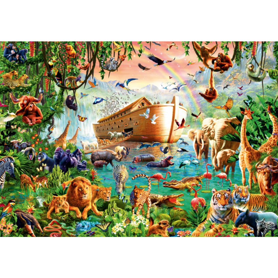 Noah's Ark - puzzle de 1000 pièces-1