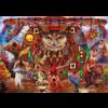 Bluebird Puzzle Animal Totem - puzzle of 1000 pieces
