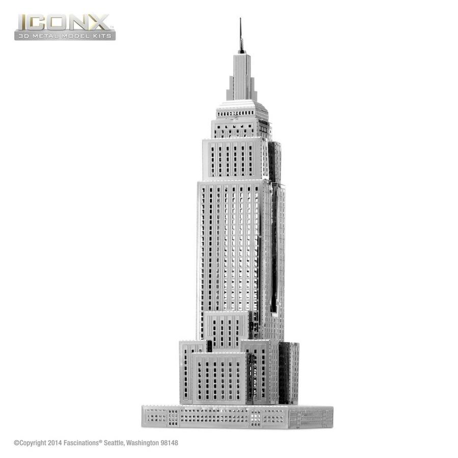 Empire State Building - Iconx 3D puzzle-1