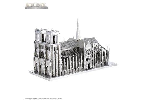 Metal Earth Notre Dame de Paris - Iconx puzzle 3D