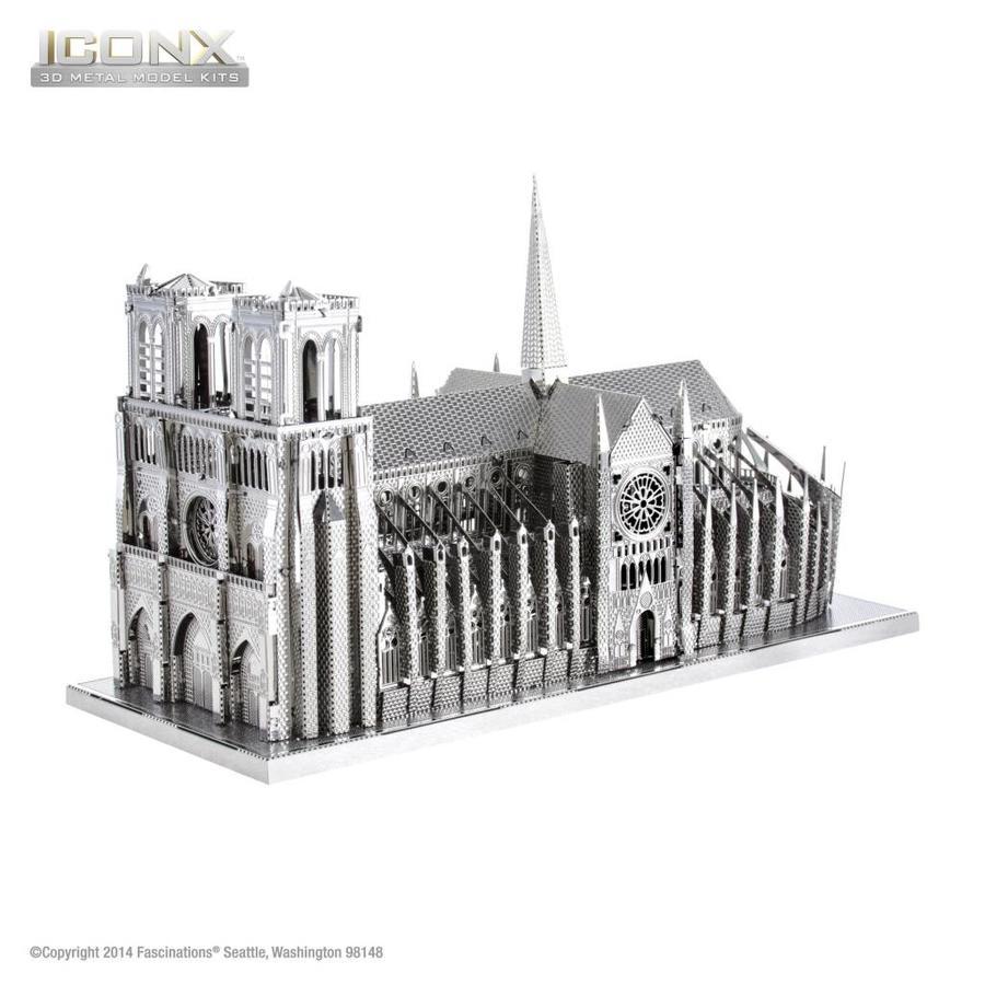Notre Dame de Paris - Iconx puzzle 3D-1
