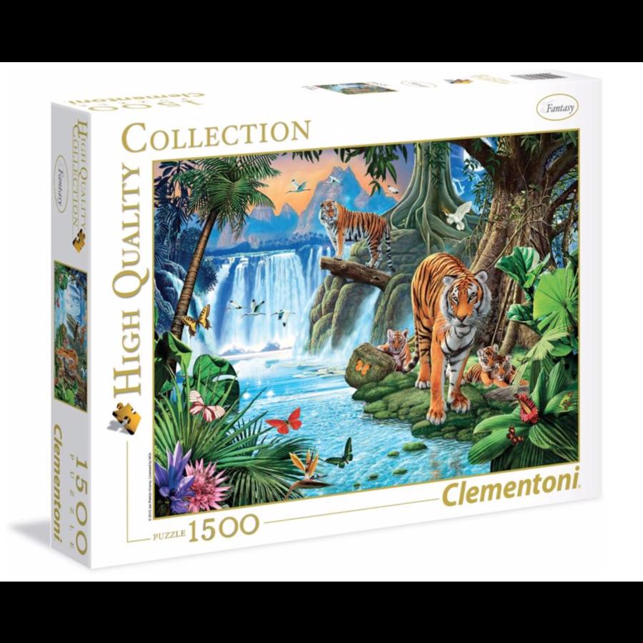 Tijger familie - puzzel 1500 stukjes-2