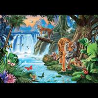 thumb-Tijger familie - puzzel 1500 stukjes-1