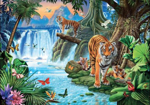 Tijger familie  - puzzel 1500 stukjes