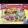 Ravensburger Iedereen houdt van Mickey - 3 x 49 stukjes