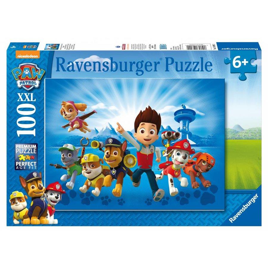 De ploeg van Paw Patrol   - puzzel van 100 stukjes-1