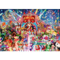 thumb-Een avond in het circus - puzzel van 1000 stukjes-1