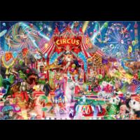 thumb-Une nuit au cirque - puzzle de 1000 pièces-1