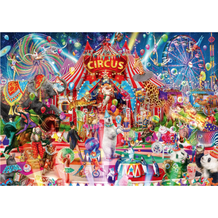 A night at the circus - puzzle of 1000 pieces-1