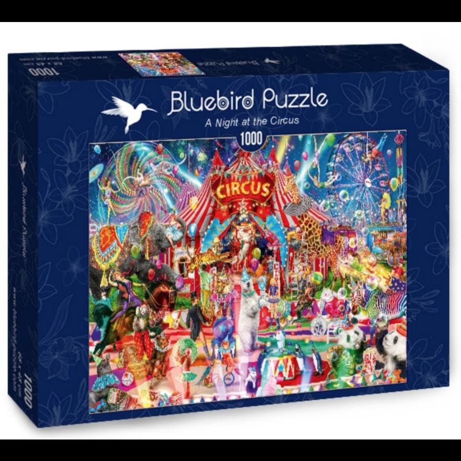 Een avond in het circus - puzzel van 1000 stukjes-2