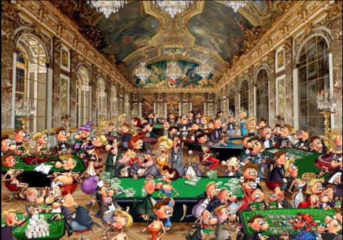 Het casino - 1500 stukjes