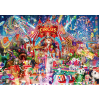 thumb-A Night at the Circus - puzzle of 4000 pieces-1