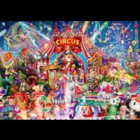 thumb-Een avond in het circus - puzzel van 4000 stukjes-1