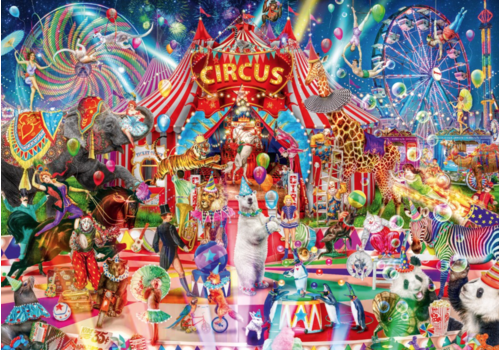 A Night at the Circus - 4000 pieces