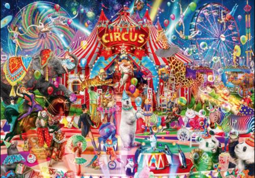 Une nuit au cirque - 4000 pièces